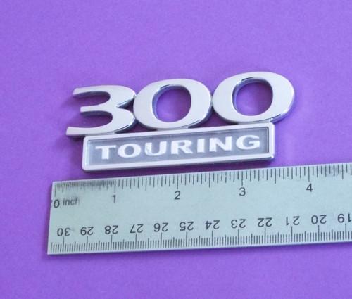 Original 2005-2006-2007-2008 Chrysler 300 Touring Trunk Lid Emblem-Badge