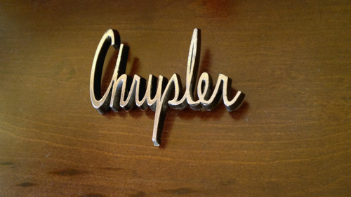 1963 Chrysler 300 Fender Emblem-Badge