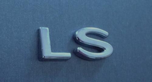 Original 2000-2001-2002 Lincoln LS-LS Callout Tail Light Emblem-Badge