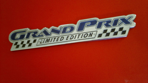 Original 2003 Pontiac Grand Prix Limited Edition Door Emblem-Badge