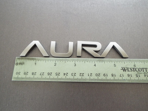 2007-2008-2009-2010 Saturn Aura-Aura Emblem-Badge