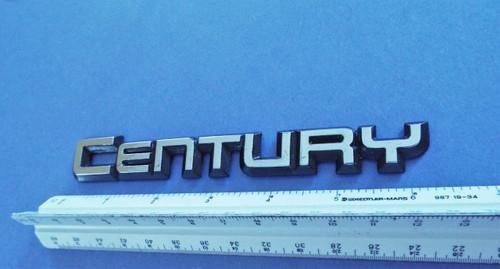 Original 1984-1985-1986-1987-1988-1989 Buick Century Emblem-Badge