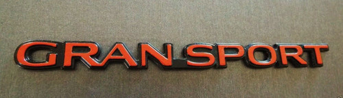 Original GM 1995-1996 Buick Regal Gran Sport Door Emblem-Badge