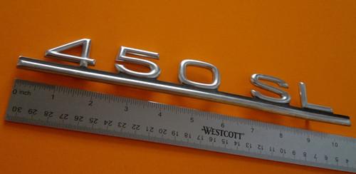 Original 1972-1973-1974-1975-1976-1977-1978-1979-1980 Mercedes Benz 450SL Emblem-Badge