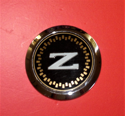 Original 1984-1985-1986 Nissan 300ZX Front Bumper Emblem-Badge