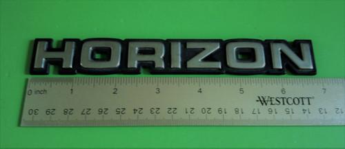 1979-1980-1981-1982-1983-1984-1985-1986-1987-1988-1989-1990 Plymouth Horizon  Emblem-Badge