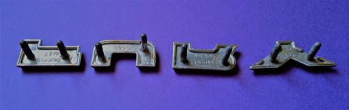 Original 1964 Plymouth Fury-Fury Quarter Panel Emblem-Badge