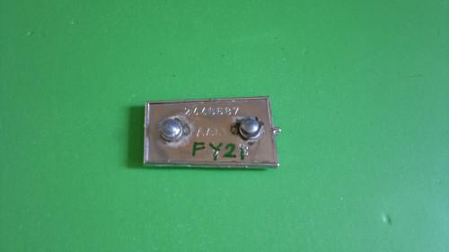 Original 1964 Plymouth Fury Door Panel Emblem-Badge