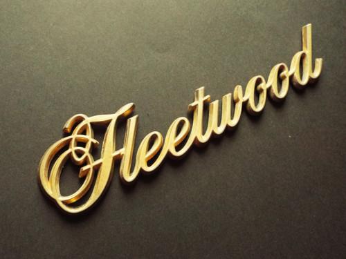 1985-1986-1987-1988-1989-1990-1991-1992 Cadillac Fleetwood Quarter Panel Emblem-Badge-Gold Color