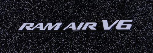 Original 2000-2001-2002-2003-2004-2005 Pontiac Grand Am Ram Air V6 Fender Emblem-Badge