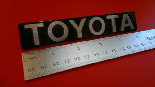 Original 1982-1983-1984-1985 Toyota Celica-Supra Toyota Hatch Emblem-Badge
