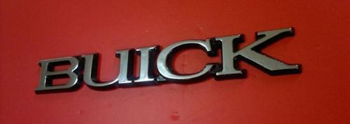 1991-1992-1993-1994-1995-1996 Buick Roadmaster Trunk Lid Emblem-Badge