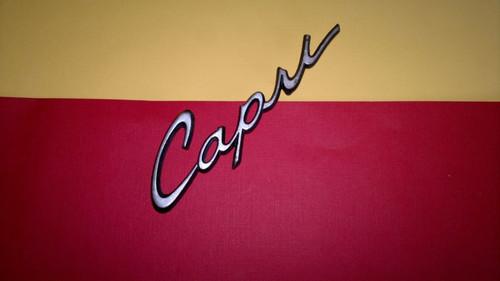 Original 1970-1971-1972-1973-1974-1975 Ford Capri Trunk Lid Emblem-Badge