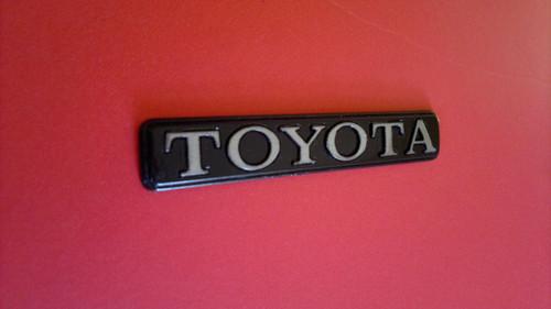 1976-1977-1978-1979 Toyota Corona-Toyota Trunk Lid Emblem-Badge