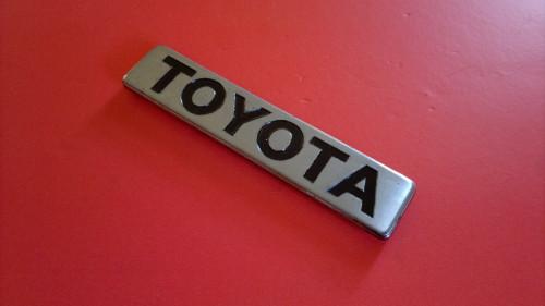 1980-1981-1982 Toyota Corona-Toyota Trunk Lid Emblem-Badge