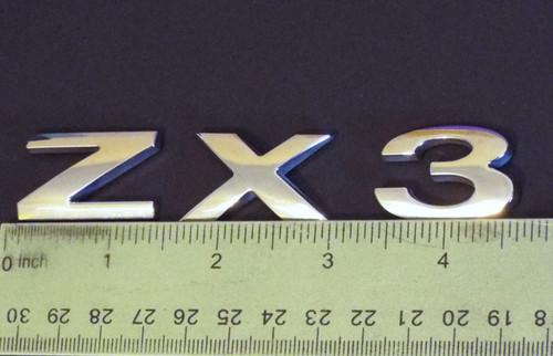 Original 2005-2006 Ford Focus ZX3 Emblem-Badge