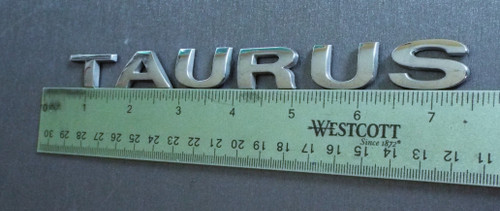 Original 2008-2009 Ford Taurus Trunk Lid Emblem-Badge