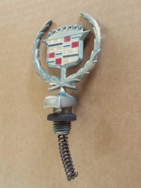 Original 1977-1978-1979-1980-1981-1982-1983-1984-1985-1986 Cadillac Fleetwood-Cadillac Brougham Hood Ornament