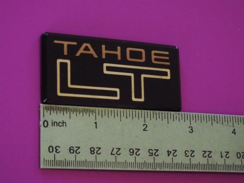 1991-1992-1993-1994-1995 Chevrolet S-10 Blazer Tahoe LT B-Pillar Emblem-Badge