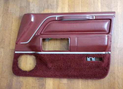 Original 1985-1986-1987-1988-1989 Lincoln Town Car Front Passenger Door Panel