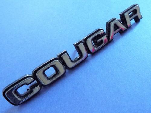 1983-1984-1985-1986-1987-1988 Mercury Cougar Trunk Lid Emblem-Badge