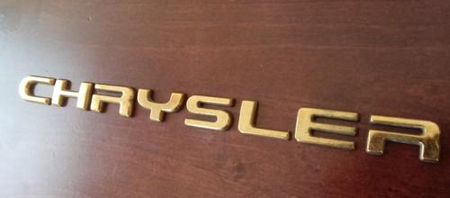 1994-1995-1996 Chrysler LHS Door Emblem