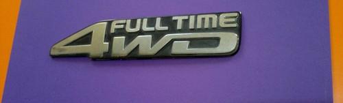 1993-1994-1995-1996-1997 Toyota Land Cruiser Full Time 4WD Emblem-Badge