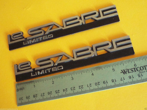 1984-1985 Buick LeSabre Limited Quarter Panel Emblem-Badge