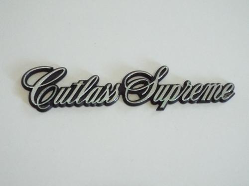 Original 1981-1982-1983-1984-1985-1986-1987-1988 Oldsmobile Cutlass Supreme Fender Emblem-Badge