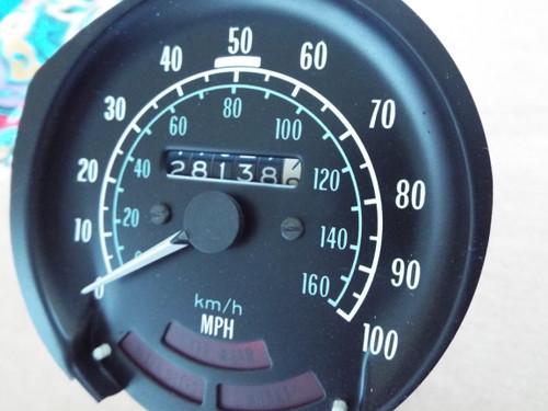 1975-1976-1977-1978 Pontiac 100 MPH Speedometer