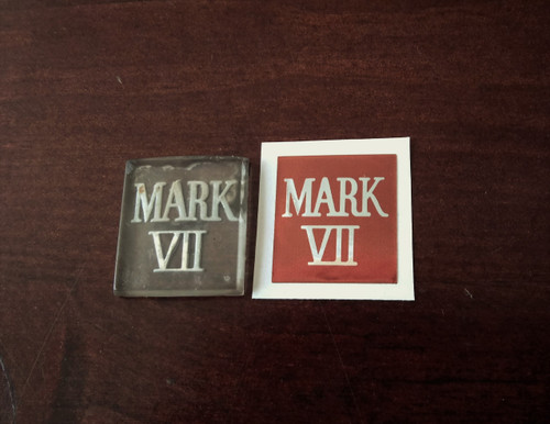 New 1984-1985-1986-1987-1988-1989-1990-1991-1992 Lincoln MK VII_Mark VII Grille Emblem-badge Overlay