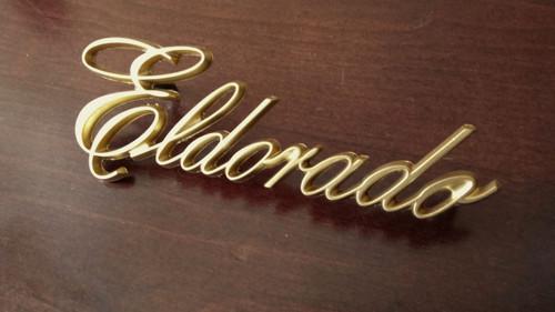 1985 Cadillac Eldorado Sail Panel Emblem-Badge-Gold  1984 Cadillac Eldorado Sail Panel Emblem-Badge-Gold  1983 Cadillac Eldorado Sail Panel Emblem-Badge-Gold  1982 Cadillac Eldorado Sail Panel Emblem-Badge-Gold  1981 Cadillac Eldorado Sail Panel Emblem-Badge-Gold  1980 Cadillac Eldorado Sail Panel Emblem-Badge-Gold  1979 Cadillac Eldorado Sail Panel Emblem-Badge-Gold