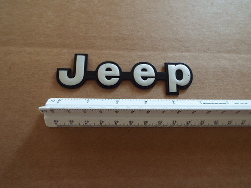 1984-1985-1986-1987-1988-1989 AMC Jeep Cherokee Jeep Liftgate Emblem-Badge