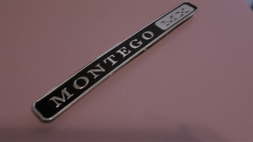 Original 1969-1970-1971 Mercury Montego MX Dashboard Emblem