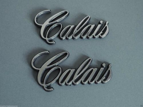 1985-1986-1987 Oldsmobile Cutlass Calais Door Emblem-Badge