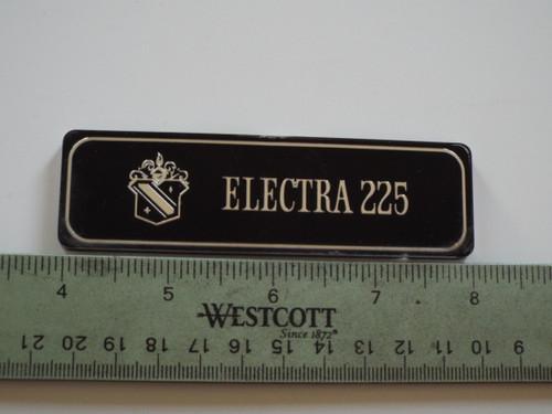 Original 1970 Buick Electra 225 Dash-Dashboard Emblem-Badge