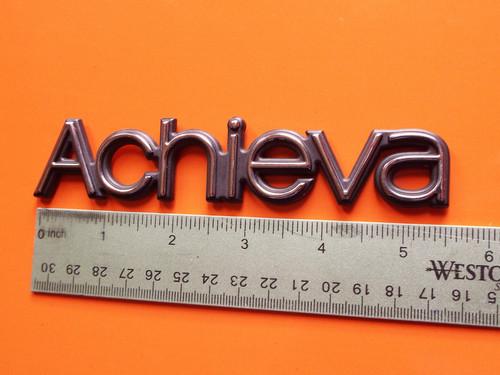 Original 1992-1993-1994-1995-1996-1997-1998 Oldsmobile Achieva-Achieva Door Emblem-Badge
