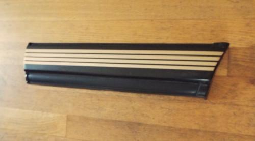 Original 1990-1991 Oldsmobile Cutlass Calais Quad 442 Quarter Panel Molding-LH