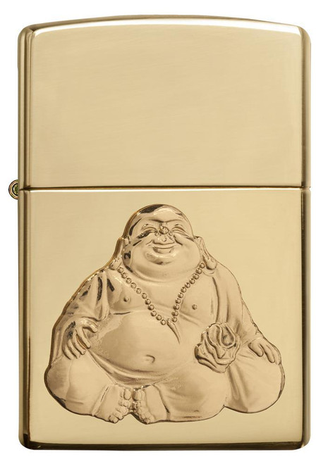 Laughing Buddha [High Polish Brass]