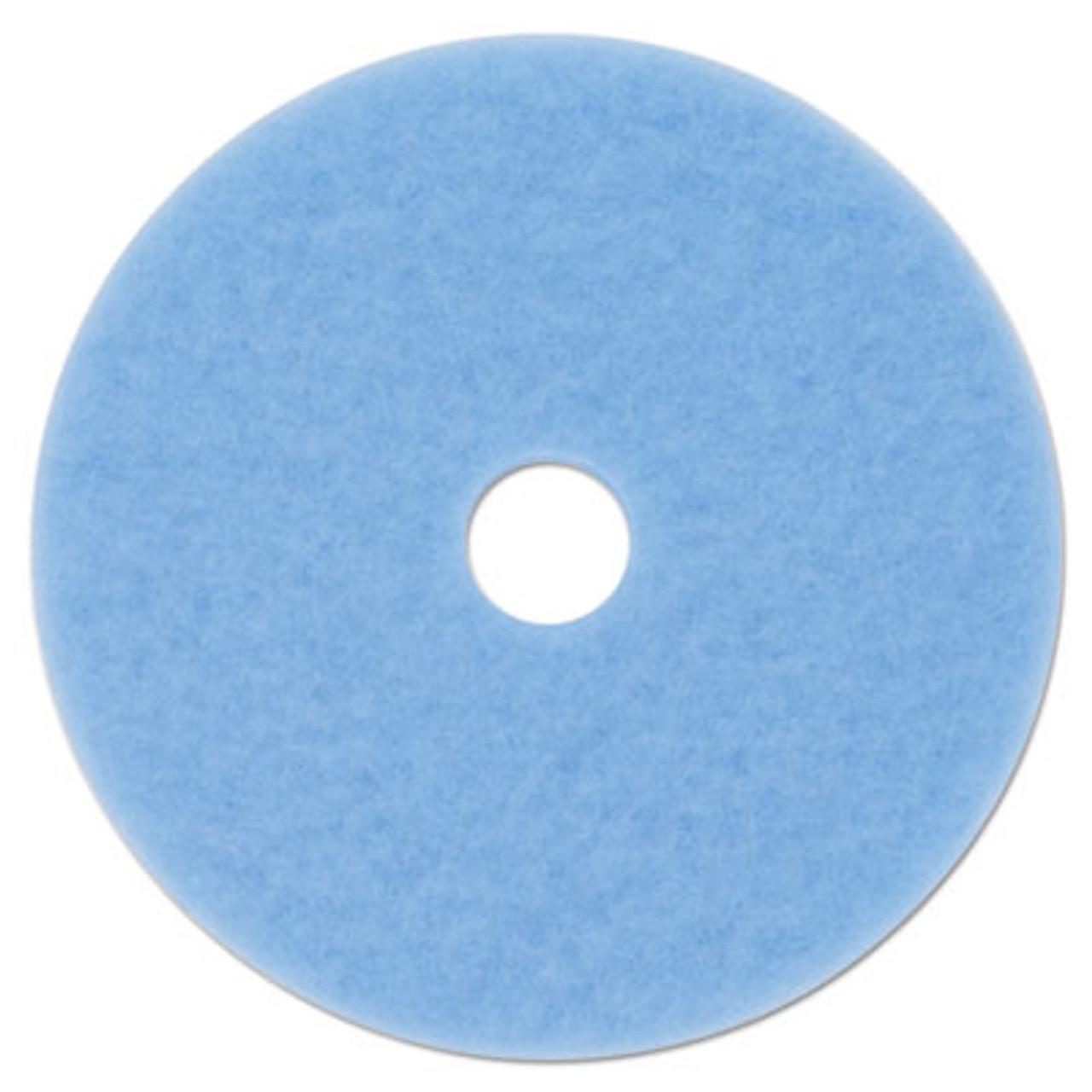 "*Special* 1//Case 3M Sky Blue 20/"" Burnish Pad Hi-Performance 5 Each 59825"