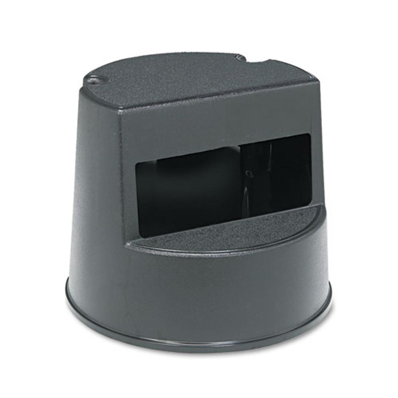 Brilliant Rubbermaid 2523Bla Mobile Two Step Stool Supports Up To 350 Lb Plastic Black Replaces Rcp2523Bla Rcp252300Bk Inzonedesignstudio Interior Chair Design Inzonedesignstudiocom