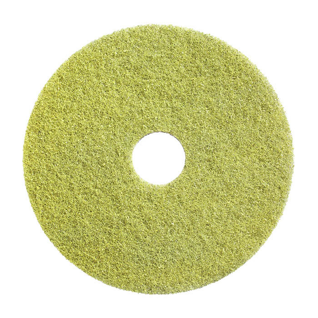 """20/"""" Americo Manufacturing 435520 Twister Green 3000 Grit Floor Pad 2 Pack"""