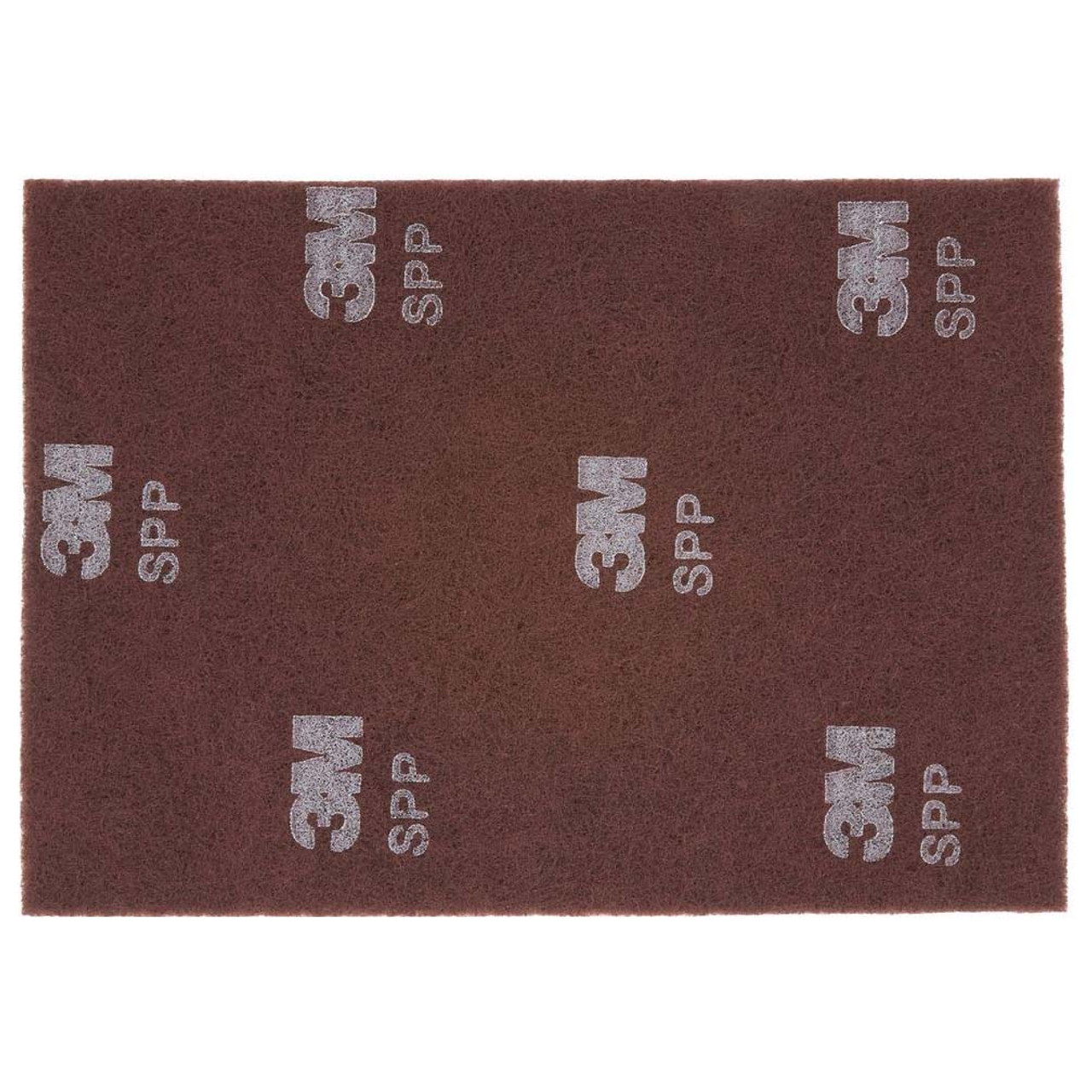 3m Sppp14x20 Scotchbrite Surface Preparation Pad Plus Rectangle Floor Pads 14x20x1 Inch Thick Maroon 7100151282 Case Of 5 Pads Gw