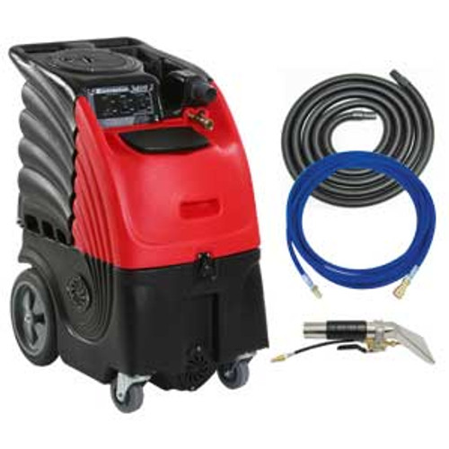 Auto detail upholstery cleaner carpet extractor with heater