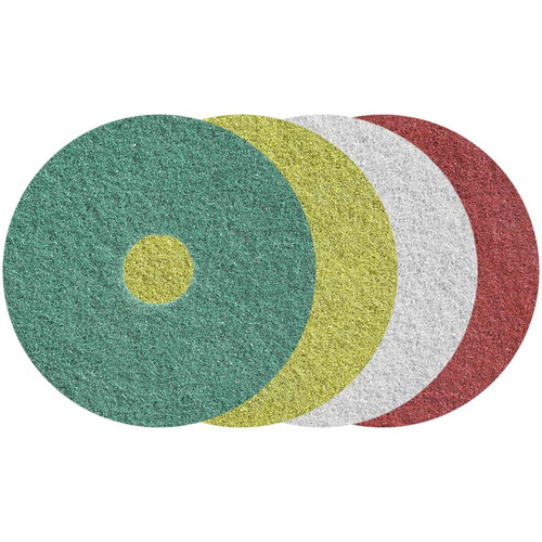 Twister Diamond Floor Pads 20 Inch 4 Pad