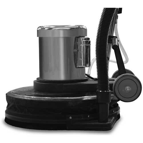 Dust control skirt kit 882917 with vacuum hose
