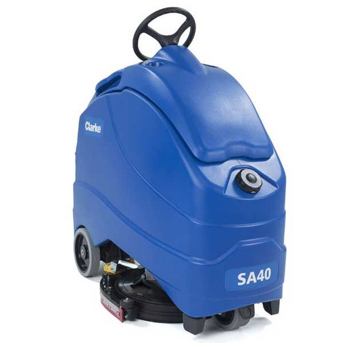 Clarke SA40 20D stand on floor scrubber 56104486
