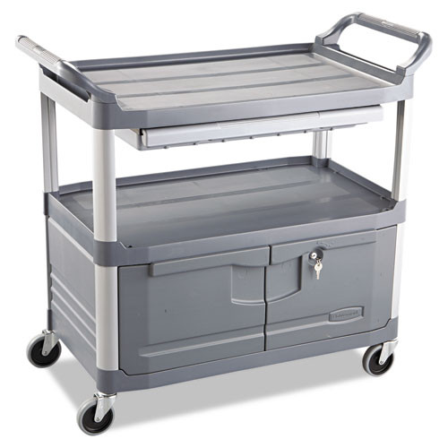 Rubbermaid 4094gra instrument cart 4094 rcp4094gra 300 lb