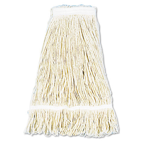 Boardwalk BWK424CCT cotton looped end fantail wet mop