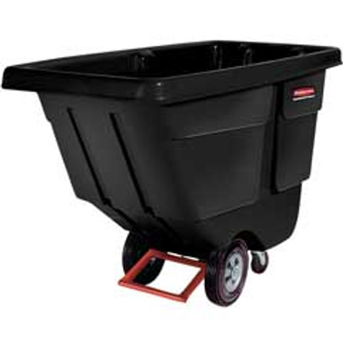 Rubbermaid 1314bla tilt truck 1 cubic yard 850
